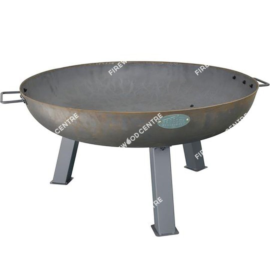 cast iron outdoor garden fire pit 970mm