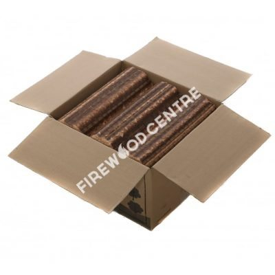 beech briquettes open box